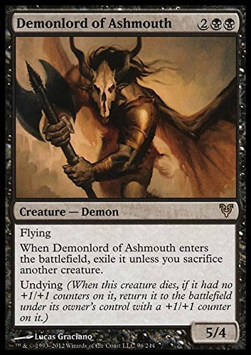 Magic The Gathering - Demonlord of Ashmouth (96) - Avacyn Restored