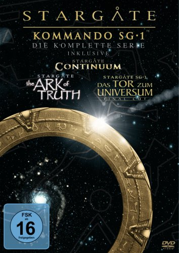 Produktbild von Stargate Kommando SG-1 - Die komplette Serie (inkl. Continuum, The Ark of Truth) [61 DVDs]