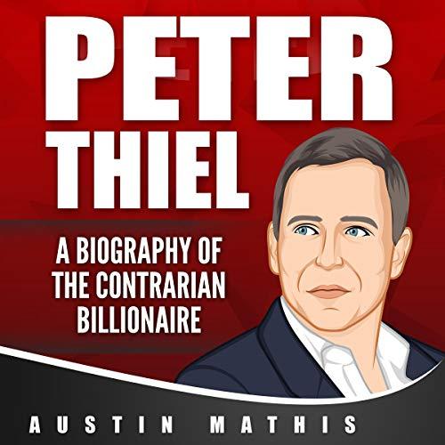 Page de couverture de Peter Thiel