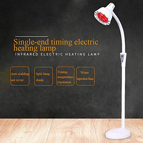 Sale!! ASDYY Infrared Heat Lamp,Infrared Light Heating Therapy Lamp for Thermotherapy Muscle Pain Re...