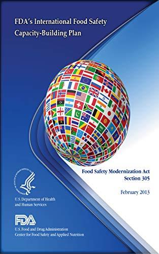 FDA International Food Safety Capacity-building Plan 2013 (English Edition)