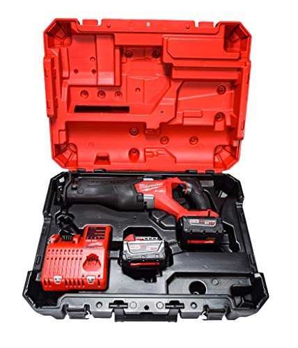 Milwaukee 2821-22 18V Li-Ion Brushless Cordless SAWZALL Reciprocating Saw Kit