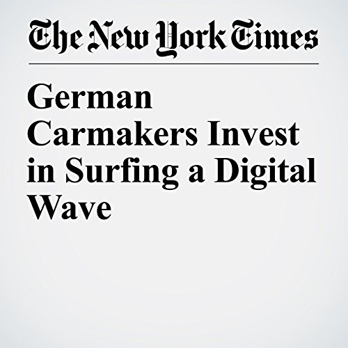 German Carmakers Invest in Surfing a Digital Wave copertina