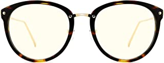 TIJN Blue Light Block Glasses|Round Optical Eyewear...