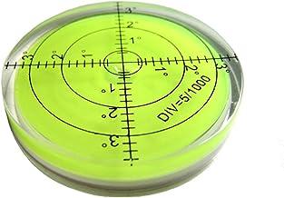 Easyeeasy Grote universele ronde waterpas met schaal Horizontale bellenmeettoebehoren voor meetinstrument