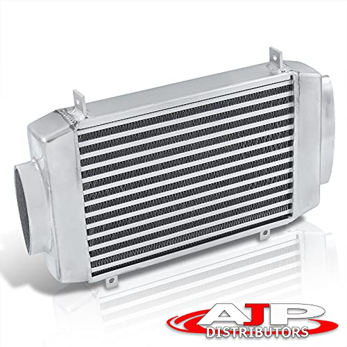 AJP Distributors Performance Bolt On Racing Top Mount Bar & Plate TMIC Aluminum Intercooler Compatible/Replacement For MINI Cooper S R53 R52 1.6L Supercharged 2002 2003 2004 2005 2006 02 03 04 05 06