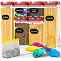 6-Pieces Double Villages Airtight Food Storage Containers Set