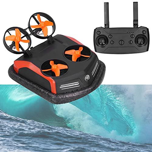 01 Drone RC, modalità Acqua/Terra/Aria 3‑in‑1 Hovercraft RC per Esterni per Uso Acquatico