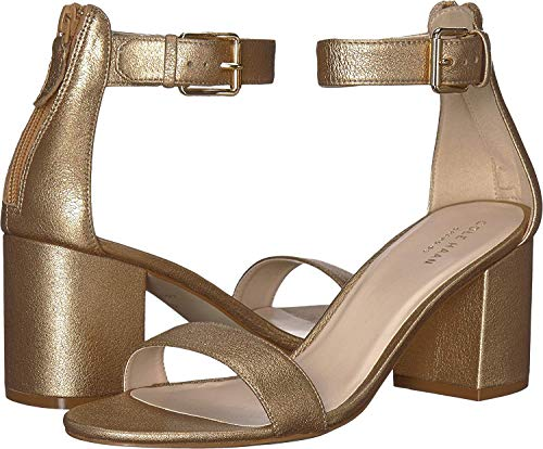 Cole Haan Clarette Sandal II Soft Gold Leather 7