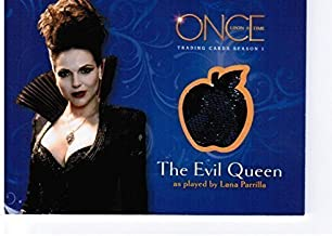 Once Upon a Time Wardrobe / Costume Card M07 - A Piece of The Evil Queen's Wardrdrobe