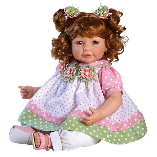 Adora ToddlerTime 'Tutti Fruity' Doll with hand sewn premium dress and pink sandals