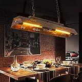 Retro Vintage Pendant Light lampadine lampada a sospensione lampada a sospensione lampada retrò mobili lampadari lampada a sospensione industriale del ferro di stile della luce for la stanza soggiorno