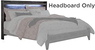 Signature Design by Ashley Baystorm King Panel Headboard, Gray