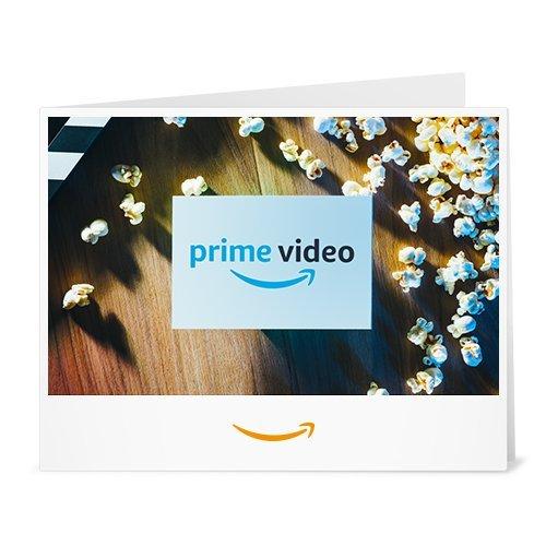 Amazon.de Gutschein zum Drucken (Prime Video)