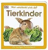 Wer versteckt sich da. Tierkinder: Ein lustiges Gucklochbuch. Pappbilderbuch mit Glitzerfolie und Gucklöchern ab 1 Jahr