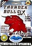 Thunder bull 9X Pill 7 Days Long Action Longer and Harder Erection 100% Authentic (2Pills)