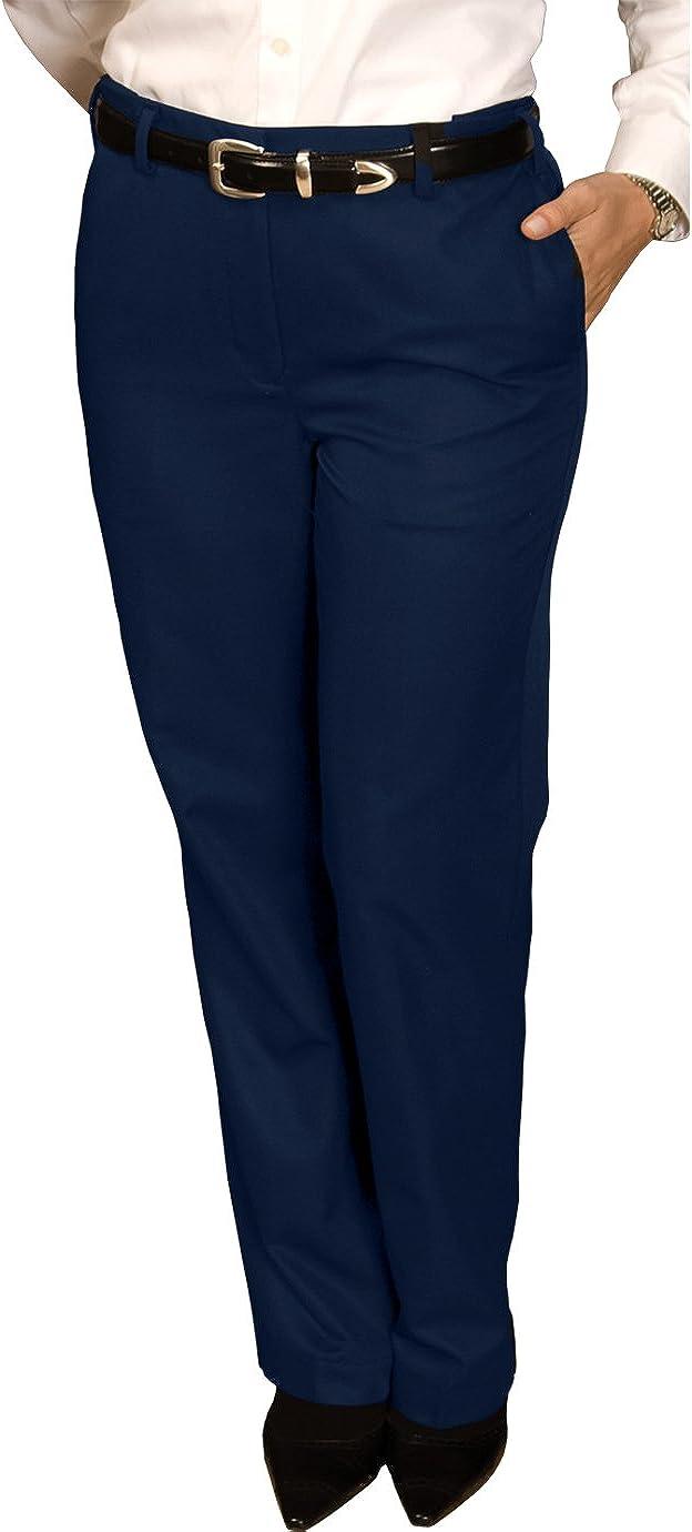 Ed Garments Women's Casual Chino Blend Pant, Navy, 0 29