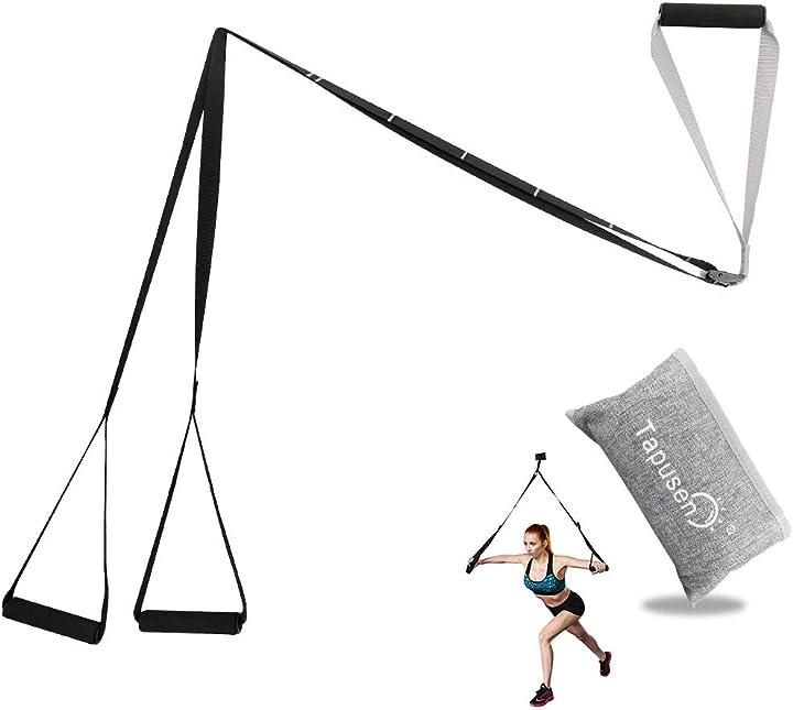 Kit di allenamento fitness - regolabile kit di allenamento per sospensione allenamento B07Q2Q4ZDN