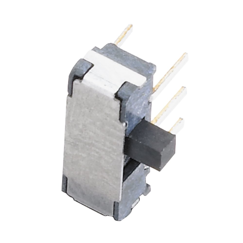 12VDC Max 74% OFF 0.1A DPDT Right-Angle Sale item PCB Slide Mount Switch