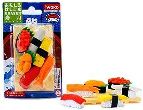Iwako Japanese Eraser Set - Sushi Assortment