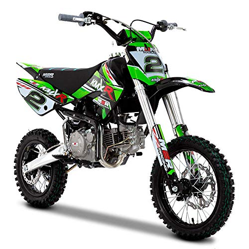 001 Racing KMXR160 160cc 82cm Green Pit Bike, grün, Unspecified