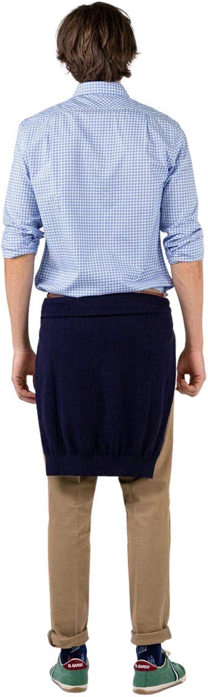 El Ganso Camisa Cuadro Tattersall Twill Azul Casual