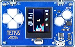Never before has a full-size arcade game been played in an incredible compact credit card size! Measuring only 3.25 x 2 x 3.75 of an inch Micro Arcade is the ultimate travel game and easily fits in your pocket! Each game comes with a full color scree...