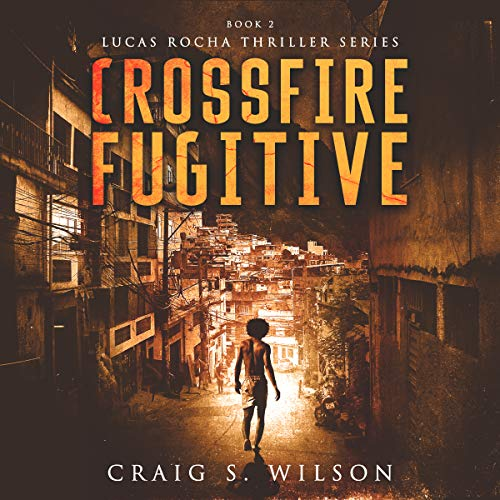 Crossfire Fugitive audiobook cover art
