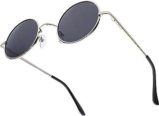 KITEOAGE Gafas de Sol Polarizadas Redondas para Hombre y Mujer