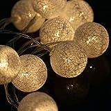 SSXCO 1,3 mt 10 LED Lichterkette Kreative Wollknäuel Lampe Batteriebetriebene Home Indoor Decor...