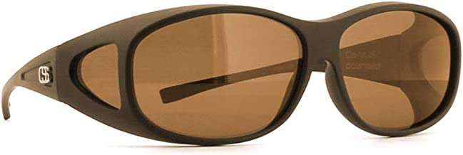 Overspex Over-the-Top Sunglasses - GRANDE Fitover Sunglasses for Prescription Eyewear