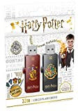 EMTEC Memoria USB 2.0 de 32 GB, M730, Harry Potter Gryf.& Hogw
