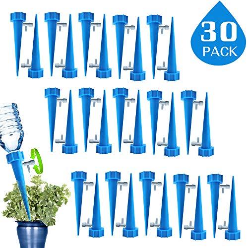 ZoneYan Automatisch Bewässerung Set, Pflanzen Bewässerungssystem mit Einstellbar, Pflanzen Blumen Bewässerung, Bewässerung für Topfpflanzen Passend für die meisten Flaschen