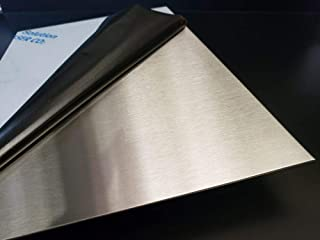 Amazon Com Stainless Steel Sheets Brushed Sheets Stainless Steel Industrial Scientific