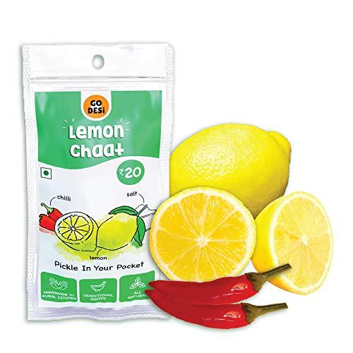 GO DESi Lemon Chaat (Pack of 10), 180gm