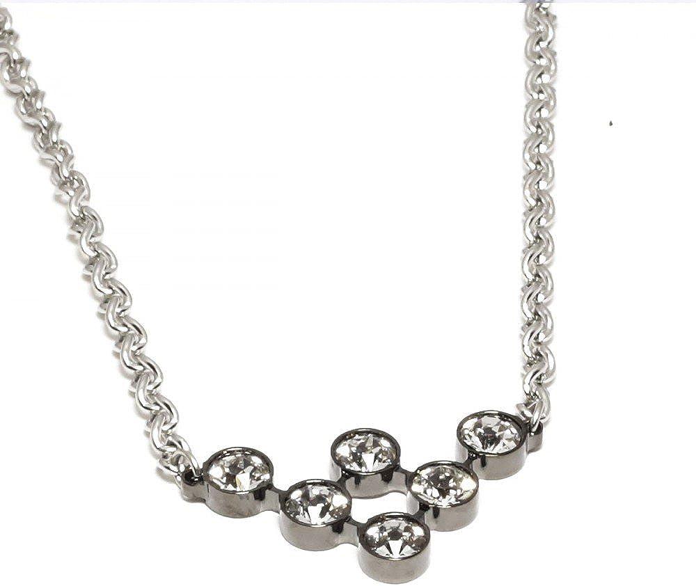Rebecca collana per donna in acciaio inossidabile e swarovski BPBKNB01