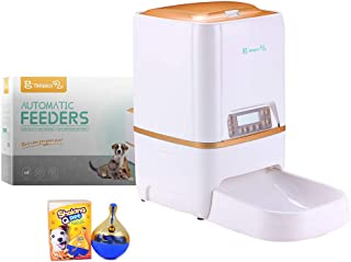 BELOPEZZ UMEI 6L Smart Pet Automatic Feeders for Dog and Cat Food Dispenser with Timer Programmable Up to 4 Meals a Day