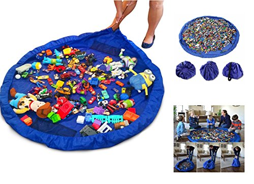 Brigamo XL Spielzeugsack zur praktischen Spielzeug Aufbewahrung, Aufräumsack - die Spielzeugkiste 2go