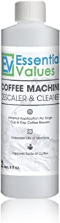 Descaling Solution / Descaler For Keurig, Delonghi, Saeco, Gaggia, Nespresso And All Single Use, Coffee Pot & Espresso Machines By Essential Values