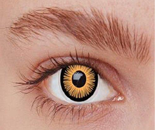 P 'tit Clown–55542–Fantasy-Kontaktlinsen–Twilight–Die Paar–Einheitsgröße