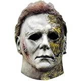SUPYINI Michael Myers Horror Film Killer Mask - Perfect for Carnival, Dressing Up & Halloween - Costume for Adults - Latex Unisex One Size (yellow)