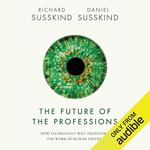Couverture de The Future of the Professions