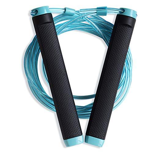 NACHEN springtouw Crossfit springtouw trainingskabel verstelbaar 3 m met kogellagers staaldraad gewichtsverlies box, MMA