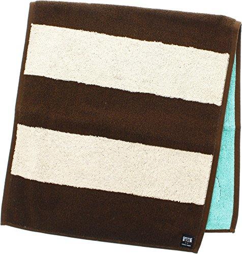 楠橋紋織 今治タオル ティラミスフェイスタオル ブラウン 1-65434-31-BR 36×83cm