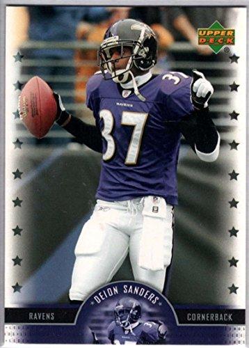 Football NFL 2005 Upper Deck Legends #18 Deion Sanders Ravens