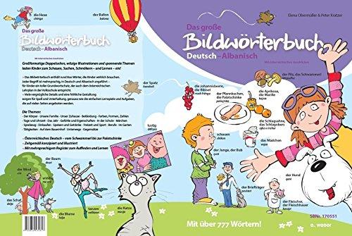 Das große Bildwörterbuch Deutsch-Albanisch: Mit österreichischen Ausdrücken