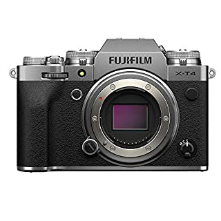 Fujifilm X-T4 Mirrorless Digital Fujifilm X-T4 Mirrorless Digital Camera Body, Silver (16650601) (B08557NN9M) | Amazon price tracker / tracking, Amazon price history charts, Amazon price watches, Amazon price drop alerts