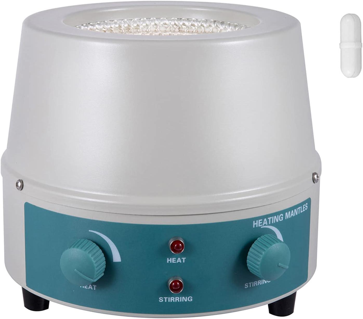 Mophorn Heating Mantle 500ml Stirrer 0-1 Magnetic Reservation Sale