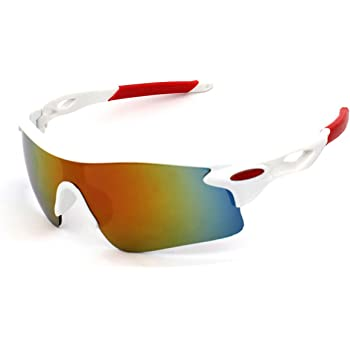 jiele Gafas de Sol Deportivas,Gafas De Sol Polarizadas para Ciclismo, para esquí de conducción Golf Running Ciclismo Bicicleta Conducir, Hombres Mujeres polarizado Gafas: Amazon.es: Deportes y aire libre