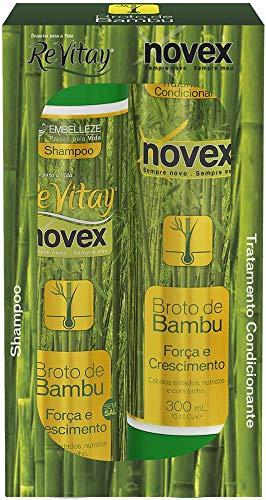Shampoo e Condicionador Broto de Bambu Kit, Vitay